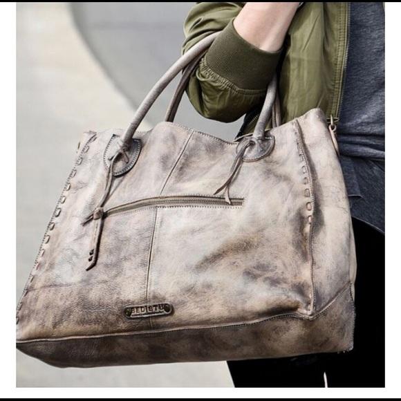 2706bd86e64f Bed Stu Rockaway Taupe Driftwood handbag